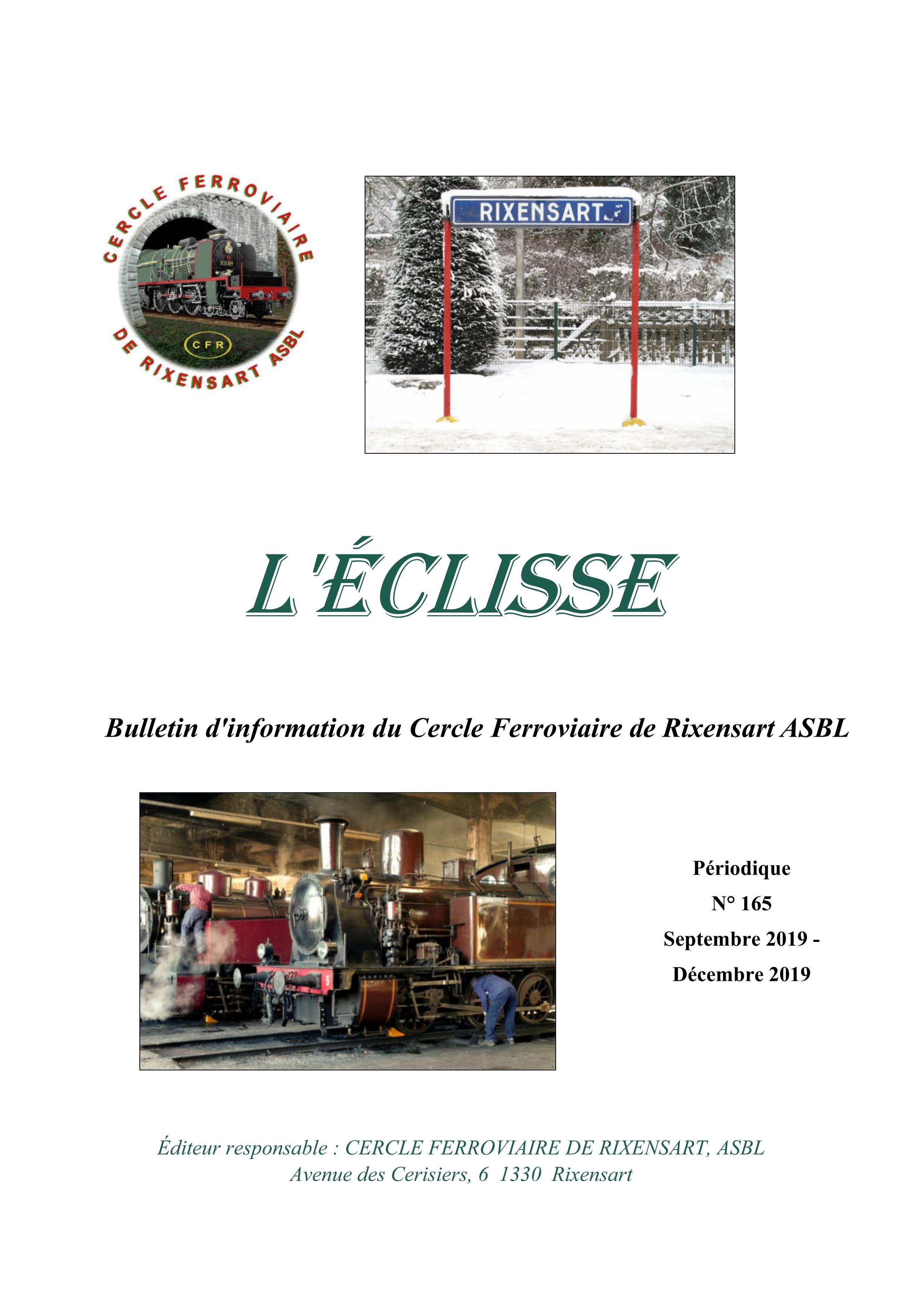 Page de garde Eclisse 165